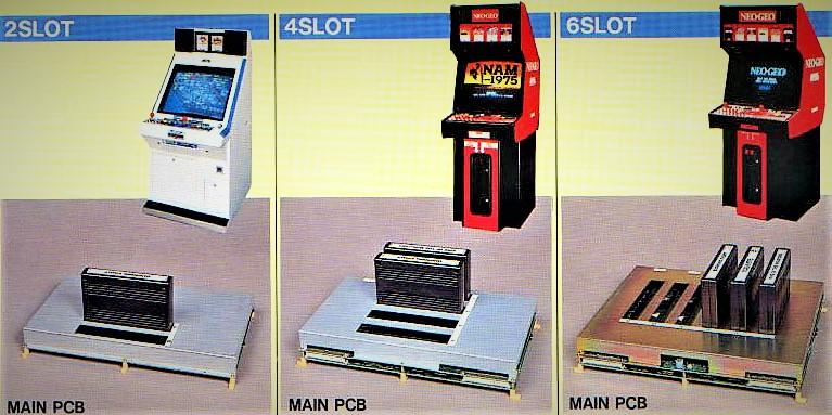 Arcade Cabinet MVS Main PCB