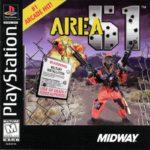 Area 51 PlayStation Box