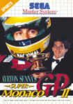 Ayrton Senna's Super Monaco GP II Sega Master System Box