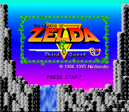BS Zelda no Densetsu Title Screen