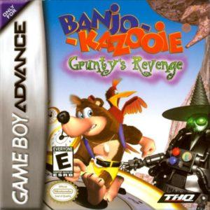 Banjo-Kazooie Grunty's Revenge Box