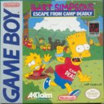 Bart Simpson's Escape from Camp Deadly Box