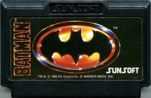 Batman Famicom Cartridge