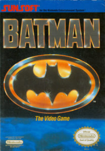 Batman NES Box