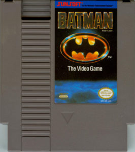 Batman NES Cartridge
