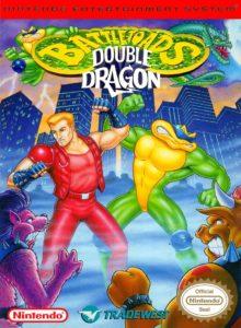 Battletoads Double Dragon NES Box