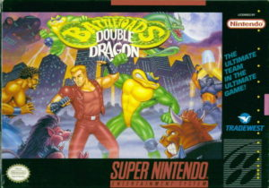 Battletoads Double Dragon SNES Box