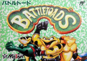 Battletoads Famicom Box