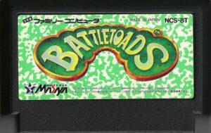 Battletoads Famicom Cartridge