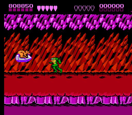 Battletoads - Level 7 Volkmire's Inferno