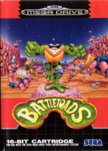 Battletoads Mega Drive Box