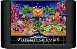 Battletoads Mega Drive Cartridge