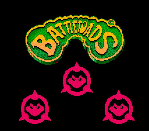 Battletoads - Title Screen