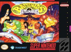 Battletoads in Battlemaniacs Box