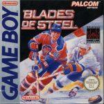 Blades of Steel European Game Boy Box
