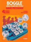 Boggle Atari 2600 Box