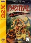 Brutal - Above the Claw Sega 32X Box
