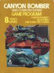 Canyon Bomber Atari 2600 Box