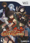 Castle of Shikigami III Wii Box