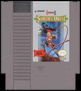 Castlevania Simon's Quest Cartridge