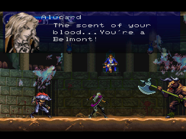 Castlevania - Symphony of the Night - Alucard Finds Richter