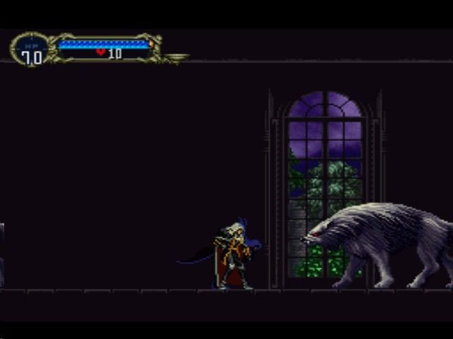 Castlevania - Symphony of the Night - Alucard In The Castle Entrance