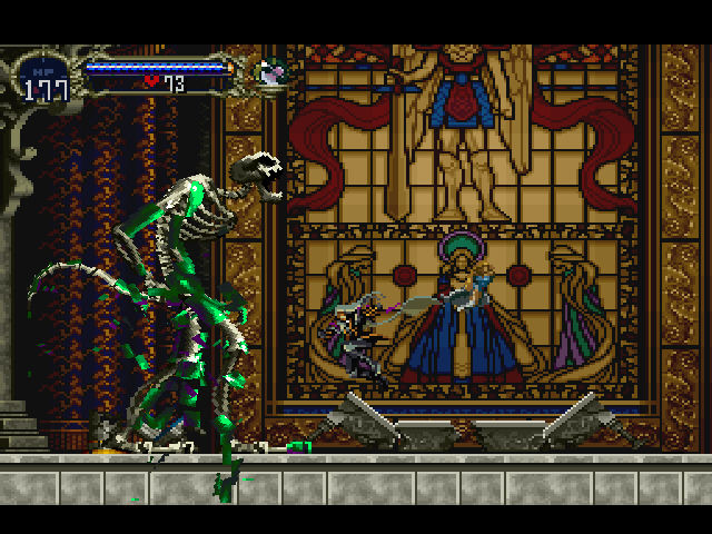 Castlevania - Symphony of the Night - Boss Battle