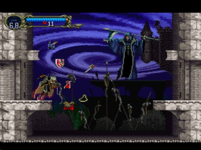 Castlevania - Symphony of the Night - Death Stealing Alucard's Items