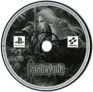 Castlevania - Symphony of the Night European Disc