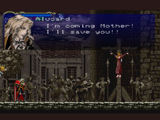 Castlevania - Symphony of the Night - Rescue Attempt