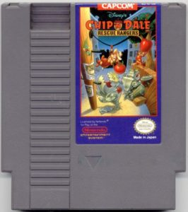 Chip 'n Dale Rescue Rangers Cartridge