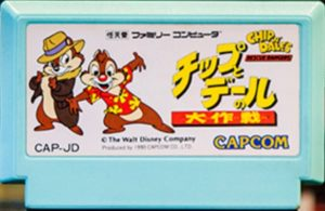 Chip 'n Dale Rescue Rangers Japanese Cartridge