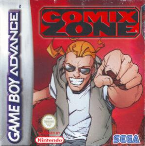 Comix Zone GBA Box