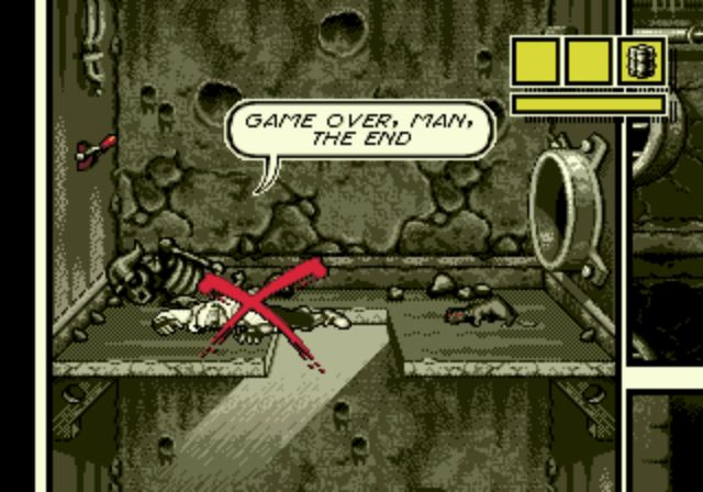 Comix Zone - Game Over