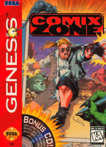 Comix Zone Genesis Box