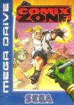 Comix Zone Mega Drive Box