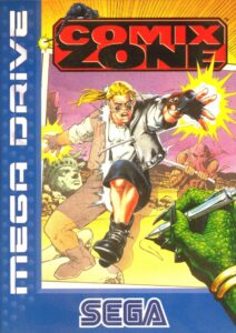 Comix Zone Mega Drive Box
