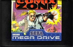 Comix Zone Mega Drive Cartridge