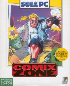 Comix Zone PC Box