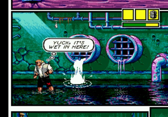 Comix Zone - Sewers