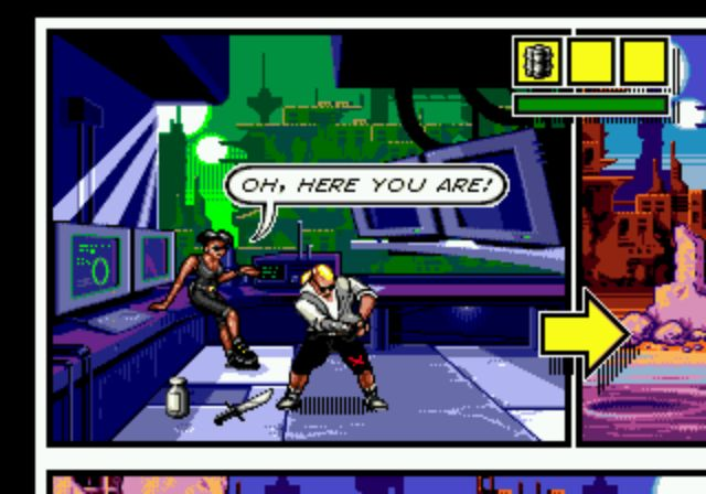Comix Zone - Starting Stage