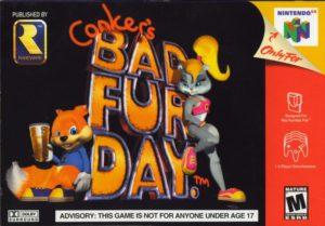 Conker's Bad Fur Day Box