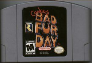 Conker's Bad Fur Day Cartridge