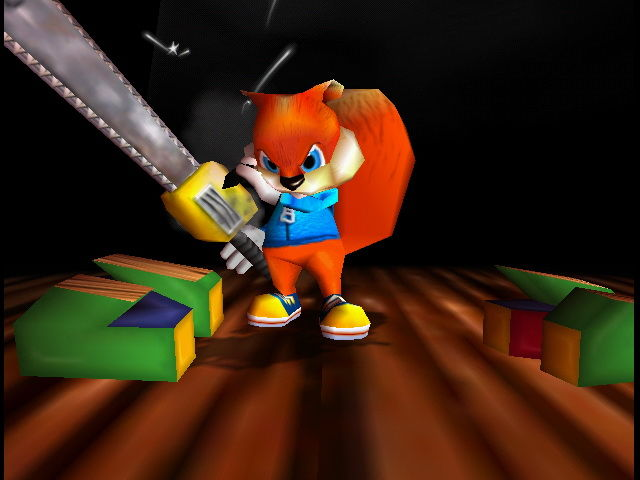 Conker's Bad Fur Day Chainsaw