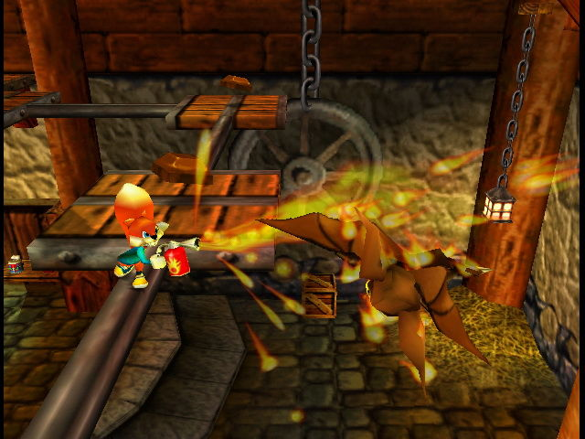 Conker's Bad Fur Day Flamthrower
