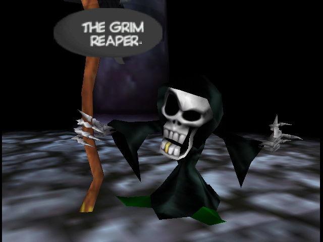 Conker's Bad Fur Day Grim Reaper