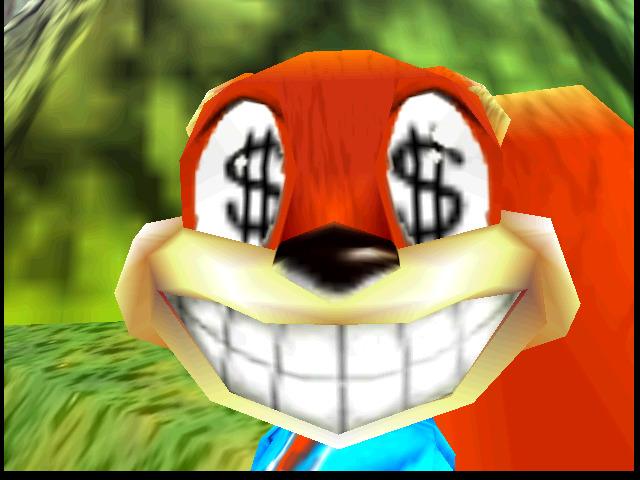Conker's Bad Fur Day Money