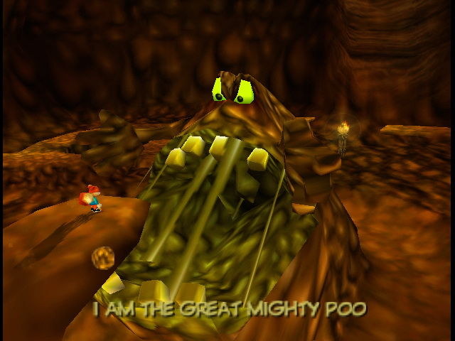 Conker's Bad Fur Day Pile of Poo