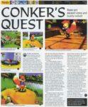 Conker's Quest Magazine Coverage