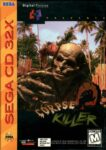 Corpse Killer Sega 32X Box